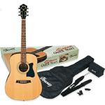 IBANEZ V50NJP NT гітарний набір (+чохол, тюнер, медіатор, ремінь) - NaVolyni.com, Фото 1