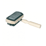 Пуходерка-щетка деревянная с напылением - NaVolyni.com, Фото 2