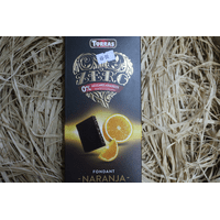 Шоколад Torras Naranja апельсин , 125 г без цукру и глютену
