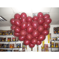 Серце-каскад з кульок