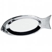 Блюдо для рыбы из нержавеющей стали Kamille 4339 (40см)