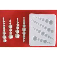 Молд кондитерский для мастики Жемчуг Empire ЕМ 8214