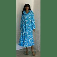 Махровый халат на молнии больших размеров