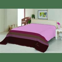 Плед на ліжко Le Vele Royal Stripes Pink