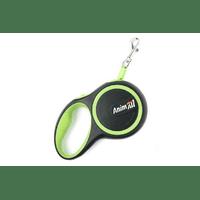 Рулетка поводок AnimАll для собак до 15 кг, салатовый
