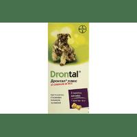 Таблетки от глистов Bayer Drontal Plus для собак, цена за 1 таблетку