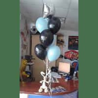 Кульки з фольги і латекса