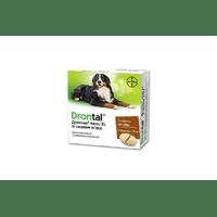 Таблетки Bayer Drontal Plus XL от глистов для собак, цена за 1 таблетку