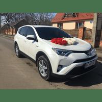 Прокат авто на весілля Toyota Rav 4 2012 і 2017 років