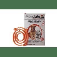 Ошейник противопаразитный AnimАll VetLine для собак, оранжевый, 70 см