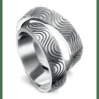 Обручальные кольца с узорами на заказ