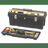 """1-92-850 Ящик для инструмента профессиональный STANLEY, 26"""" (695х 272х260мм), пластмассовый с отсеком для хранения уровня"""