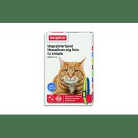 Ошейник Beaphar против блох и клещей для кошек, сине-желтый, 35 см