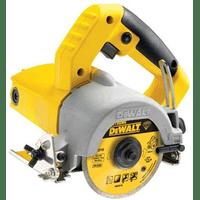DWC410 Ручной плиткорез DeWALT, 1300 Вт, диск 110 мм, рез 34 мм, мокрая и сухая резка 13 000 об/мин
