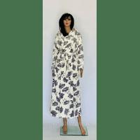 Халат женский махровый длинный