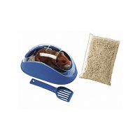 Ferplast KOKY 4635 - туалет для хомяков - с лопаткой
