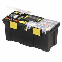 """1-93-336 Ящик для инструмента Stanley с 2-мя органайзерами и лотком пластмассовый (20001) 20"""", 50,8 x 24,7 x 24,1 см"""