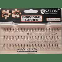Накладные ресницы Salon пучковые среднии