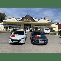 Прокат авто на весілля Хюндай Елантра і Хюндай Соната