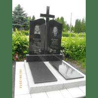 Памятник подвійний гранітний 76