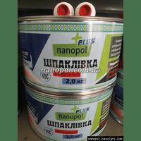 Шпаклівка УНІВЕРСАЛЬНА автомобільна Nanopol Plus 2.0 кг