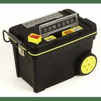 """1-92-904 Ящик большого объема с колесами Stanley """"Pro Mobile Tool Chest"""" пластмассовый со съемными отделениями в крышке (33025), 61,3 x 41,9 x 37,5 см"""