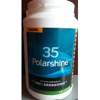 Полировальная абразивная паста Polarshine 35 2,8 л
