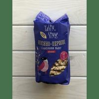 Хлібці Tasty Style з льоном/ Хлебцы овсяно-перловые со льном