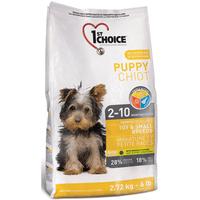 1st Choice (Фест Чойс) с курицей сухой супер премиум корм для щенков мини и малых пород 7 кг