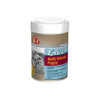 Витамины 8 in 1 Excel Multi Vit-Puppy для щенков, 100 таблеток