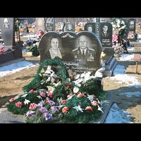 Памятник подвійний гранітний 29