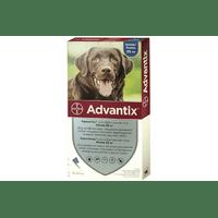 Капли от блох и клещей Bayer Advantix для собак весом свыше 25 кг, цена за 1 пипетку