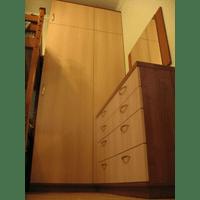 Шафа та комод у дитячу кімнату