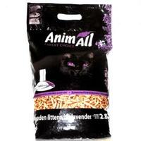 AnimAll (Энимал) наполнитель древесный для котов, с ароматом лаванды, 2.8 кг.