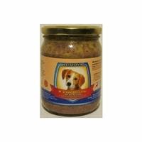 Влажный корм для собак Леопольд Мясные деликатесы с сердцем, печенью, курицей 500 г
