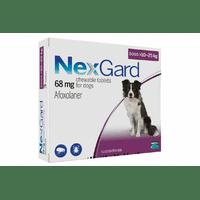 Таблетки Boehringer Ingelheim NexGard от блох и клещей для собак L, 10-25 кг, 1 таблетка