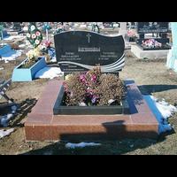 Памятник подвійний гранітний 22