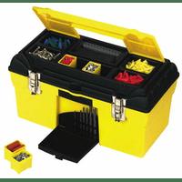"""1-92-055, 056 Stanley Ящик для инструмента """"CONDOR"""" пластмассовый с органайзерами и металлическими замками, 47,9 x 26,4 x 24,4 см и 59,7 x 28,3 x 27,9 см"""
