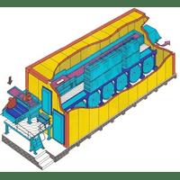 Флюідізаційні скороморозильні тунелі