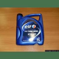 Моторное масло ELF Evolution 700 Turbo Diesel 10W40 ( 5 литров ) - RENAULT TRAFIC / OPEL VIVARO