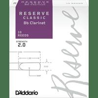 D'ADDARIO Reserve Classic Bb Clarinet <2> тростина для кларнета