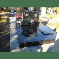 Памятник подвійний гранітний 5
