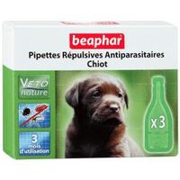 Beaphar капли Bio Spot On для щенков антипаразитарные натуральные капли для щенков с 12 недельного вораста Артикул: 15611 Пипетки : 3 пипетки
