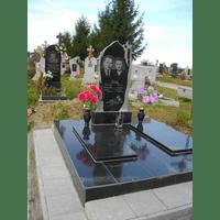 Памятник подвійний гранітний 16