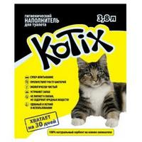 Kotix (Котикс) Наполнитель силикагелевый, 3,8л