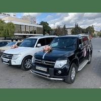 Прокат Оренда Автомобіль на весілля Мітсубіші Педжеро