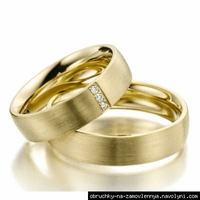 Обручальные кольца 750 пробы на заказ