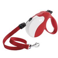 Рулетка Ферпласт Amigo Large шнур красн/бел Поводок-рулетка для собак cо шнуром.