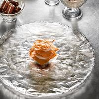 Блюдо стеклянное прозрачное 431250 BORMIOLI ROCCO Diamond 431250 (33см)