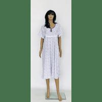 Трикотажная ночная рубашка больших размеров 52